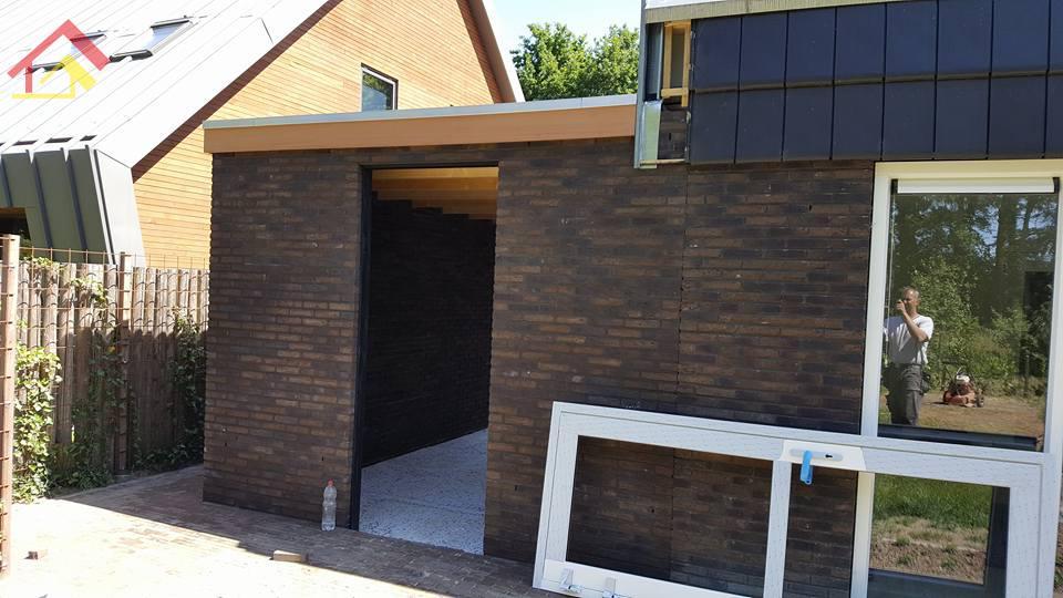 Aanbouw garage Zuidlaren - 3