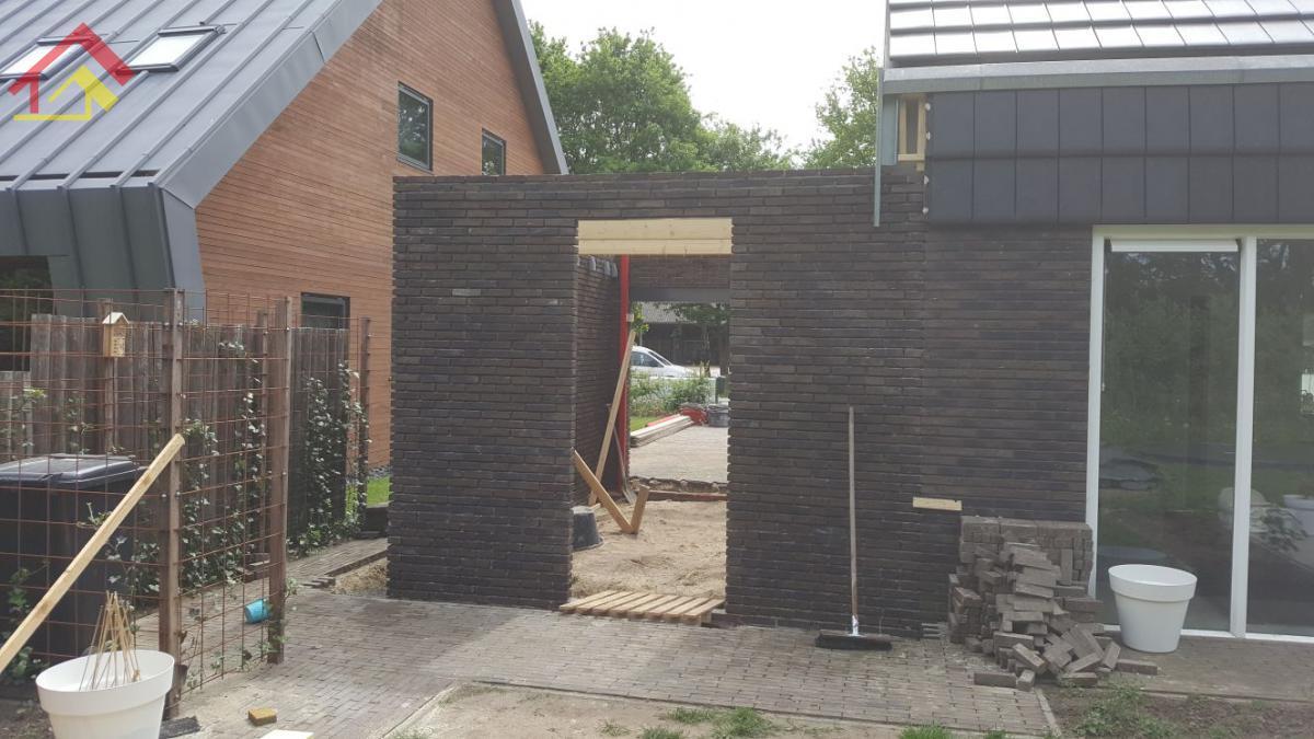 Aanbouw garage Zuidlaren - 2
