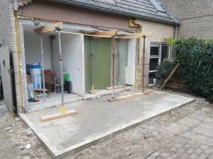 Aanbouw ter vergroting keuken - 3