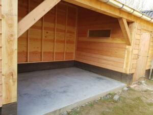 Luxe schuur met garage - 13